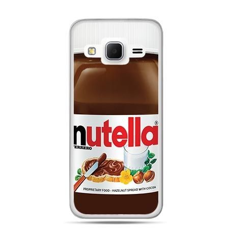 Etui na Galaxy J3 (2016r) Nutella czekolada słoik