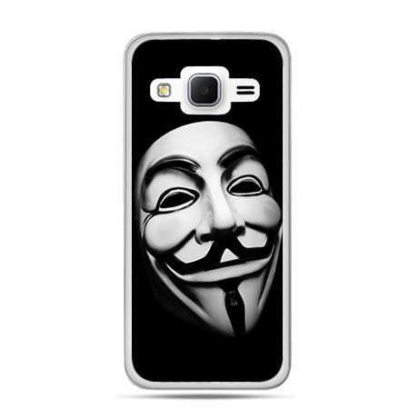 Etui na Galaxy J3 (2016r) maska Anonimus