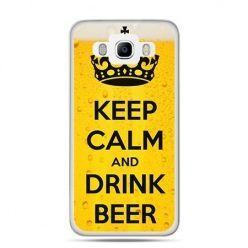 Etui na Galaxy J5 (2016r) keep calm and drink beer
