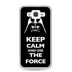 Etui na Galaxy J7 (2016r) Keep calm and use the force