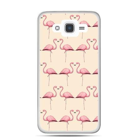 Etui na Galaxy J7 (2016r) flamingi