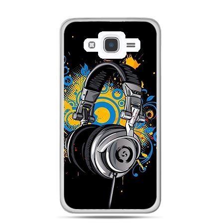 Etui na Galaxy J7 (2016r) słuchawki