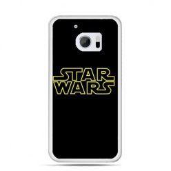 Etui na telefon HTC 10 Star Wars złoty napis