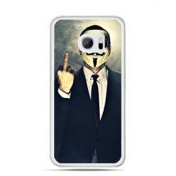 Etui na telefon HTC 10 Anonimus Fuck You