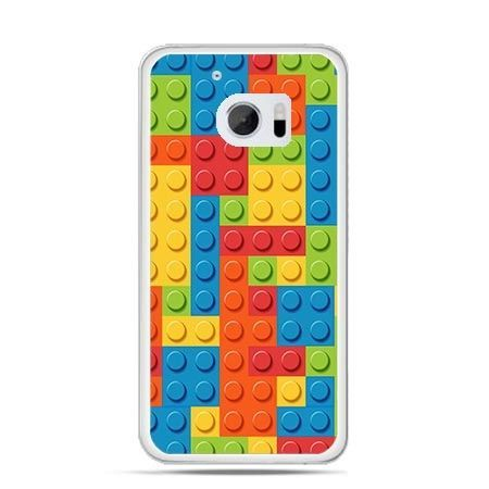Etui na telefon HTC 10 kolorowe klocki
