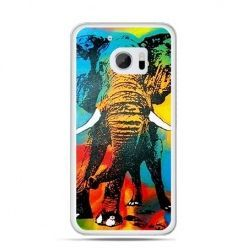Etui na telefon HTC 10 kolorowy słoń