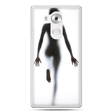 Etui na telefon Huawei Mate 8 kobieta za szybą