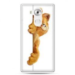 Etui na telefon Huawei Mate 8 Kot Garfield