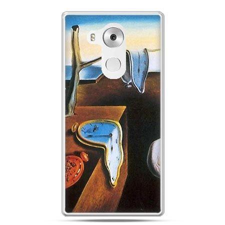 Etui na telefon Huawei Mate 8 zegary S.Dali