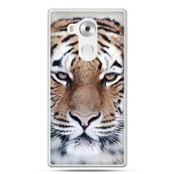 Etui na telefon Huawei Mate 8 śnieżny tygrys