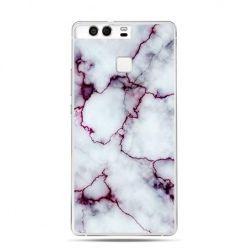 Etui na telefon Huawei P9 różowy marmur