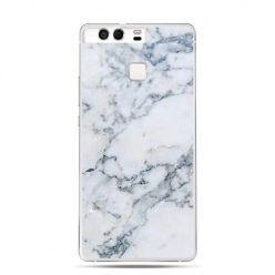 Etui na telefon Huawei P9 biały marmur