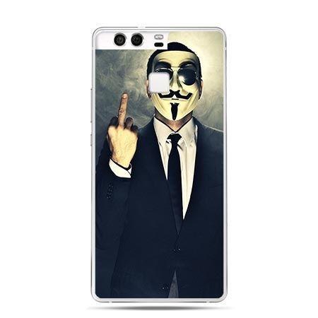 Etui na telefon Huawei P9 Anonimus Fuck You