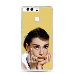 Etui na telefon Huawei P9 Audrey Hepburn Fuck You
