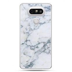 Etui na telefon LG G5 biały marmur