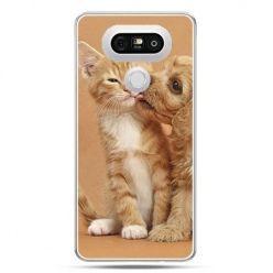 Etui na telefon LG G5 jak pies i kot