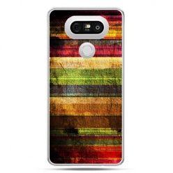 Etui na telefon LG G5 kolorowe deski