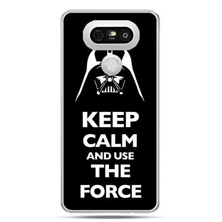 Etui na telefon LG G5 Keep calm and use the force
