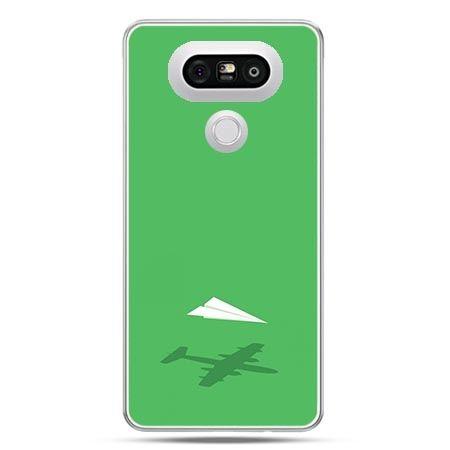 Etui na telefon LG G5 samolot z papieru