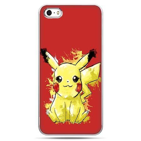 Etui na telefon w stylu pokemon pikachu.