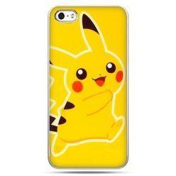 Etui na telefon w stylu pokemon żółty pikachu.