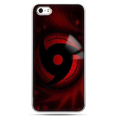 Etui na telefon Naruto czerwony symbol .