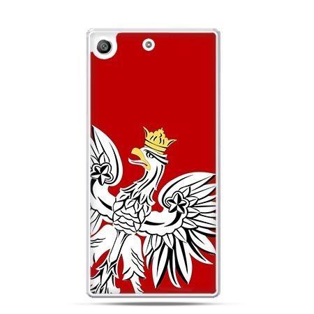 Etui na telefon Xperia M5 Orzeł Biały patriotyczne