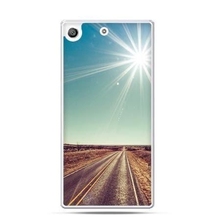 Etui na telefon Xperia M5 słoneczna autostrada