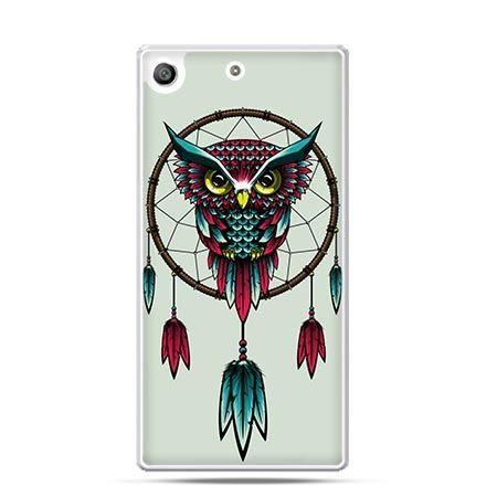Etui na telefon Xperia M5 sowa indiańska