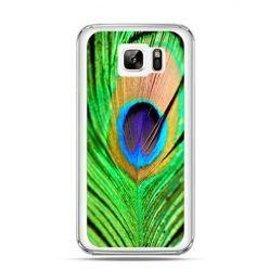 Etui na Samsung Galaxy Note 7 pawie oko
