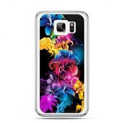Etui na Samsung Galaxy Note 7 kolorowe kwiaty