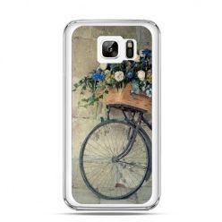 Etui na Samsung Galaxy Note 7 rower z kwiatami