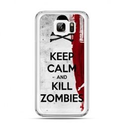Etui na Samsung Galaxy Note 7 Keep Calm and Kill Zombies