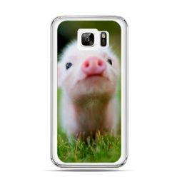 Etui na Samsung Galaxy Note 7 świnka