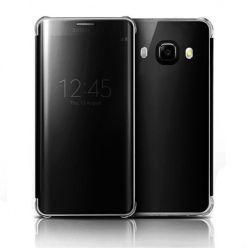 Etui na Galaxy J5 2016 Flip Clear View z klapką - czarny.