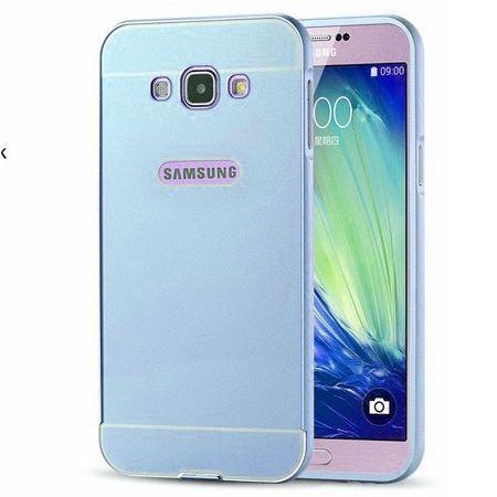 Samsung Galaxy J5 2016r etui aluminium bumper case niebieski.