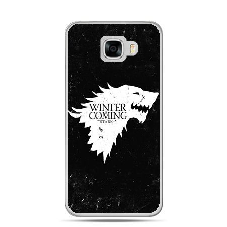 Etui na telefon Samsung Galaxy C7 - Winter is coming