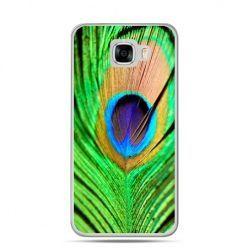 Etui na telefon Samsung Galaxy C7 - pawie oko