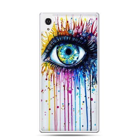 Etui na telefon Sony Xperia XA - kolorowe oko
