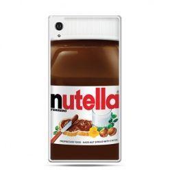 Etui na telefon Sony Xperia XA - Nutella czekolada słoik