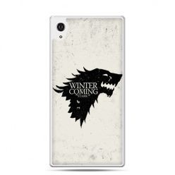 Etui na telefon Sony Xperia XA - Gra o Tron Winter is coming czarna