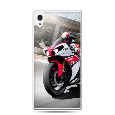 Etui na telefon Sony Xperia XA - motocykl ścigacz