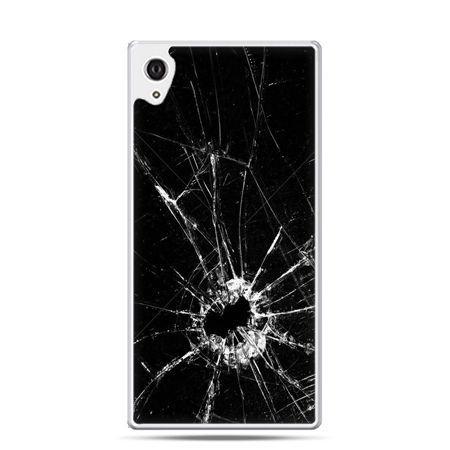 Etui na telefon Sony Xperia XA - rozbita szyba