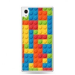 Etui na telefon Sony Xperia XA - kolorowe klocki
