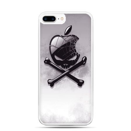 Etui na telefon iPhone 7 Plus - logo Apple czacha