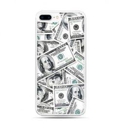Etui na telefon iPhone 7 Plus - dolary banknoty