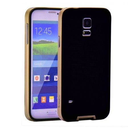 Etui na Galaxy S5  bumper Neo - złoty.