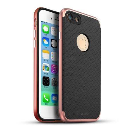 Etui na iPhone 7 bumper Neo - różowe złoto.