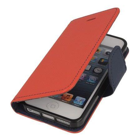 Etui na iPhone 5 / 5s Fancy Wallet - czerwony. PROMOCJA!!!