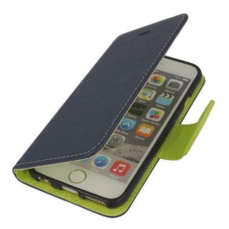 Etui na iPhone 6 / 6s Fancy Wallet - granatowy. PROMOCJA!!!
